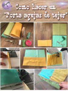 Tutorial Porta AGujas de tejer